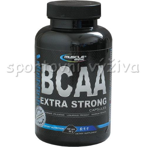 BCAA extra strong 6:1:1 100 kapslí