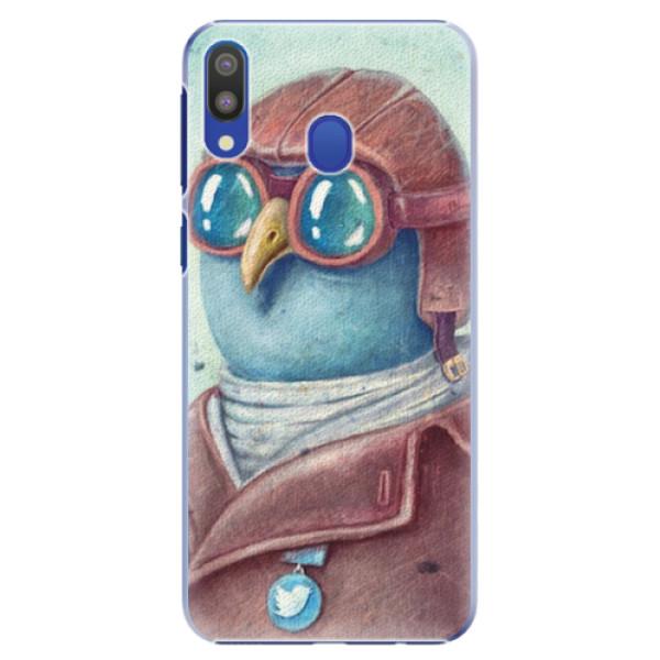 Plastové pouzdro iSaprio - Pilot twitter - Samsung Galaxy M20