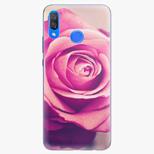 Plastový kryt iSaprio - Pink Rose - Huawei Y9 2019