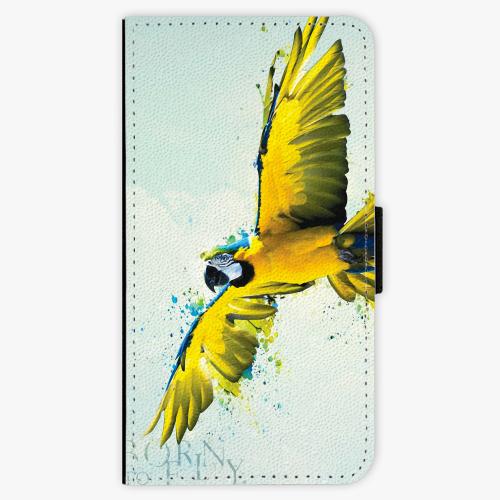 Flipové pouzdro iSaprio - Born to Fly - Lenovo Moto G5