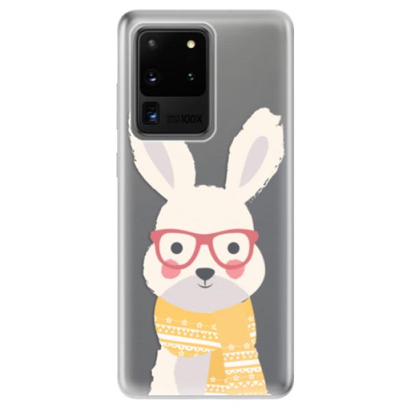 Odolné silikonové pouzdro iSaprio - Smart Rabbit - Samsung Galaxy S20 Ultra