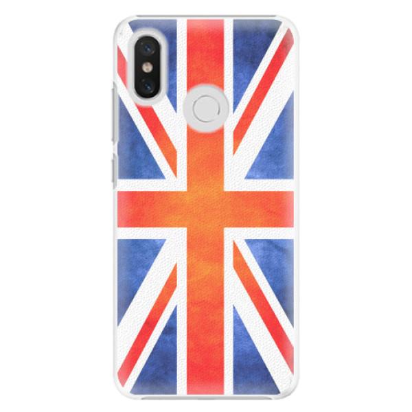Plastové pouzdro iSaprio - UK Flag - Xiaomi Mi 8