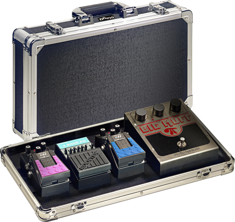 Stagg UPC-424, plastový kufr na kytarové efekty