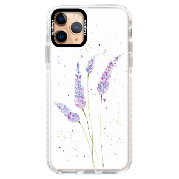 Silikonové pouzdro Bumper iSaprio - Lavender - iPhone 11 Pro