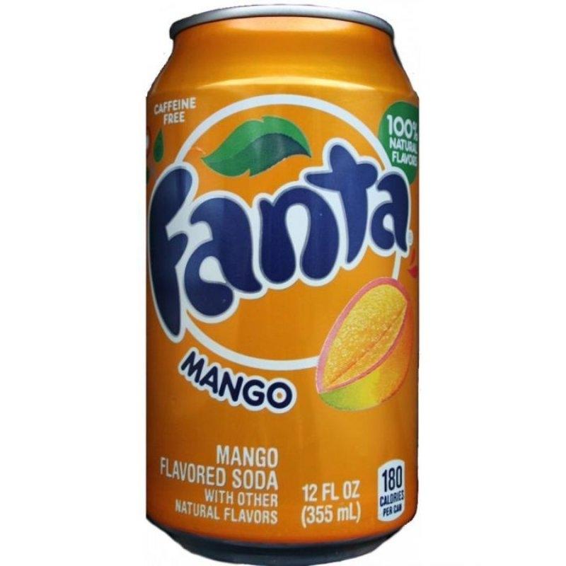 Fanta Mango 355ml (USA)