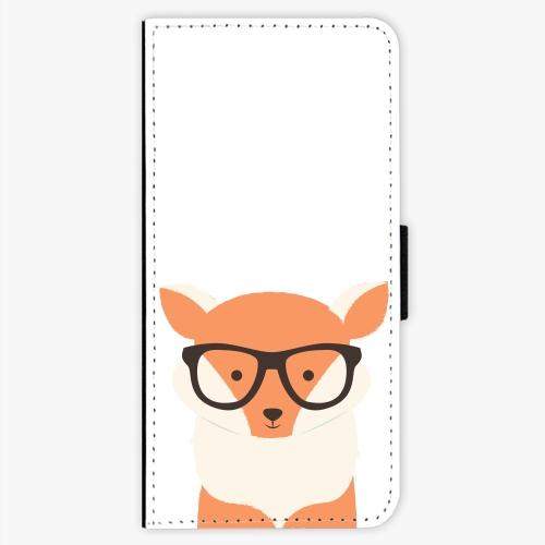 Flipové pouzdro iSaprio - Orange Fox - Nokia 5