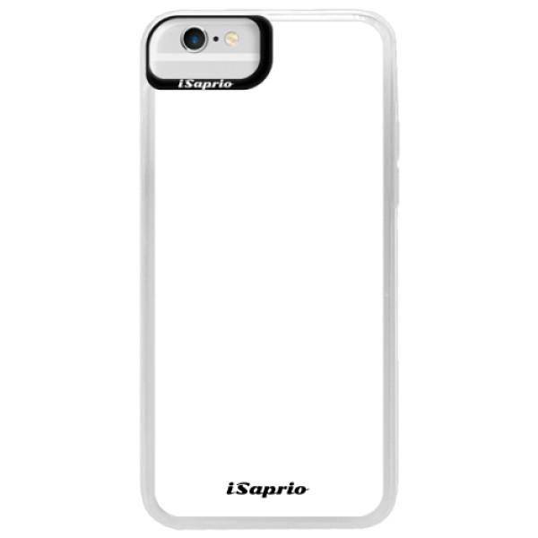 Neonové pouzdro Blue iSaprio - 4Pure - bílý - iPhone 6/6S
