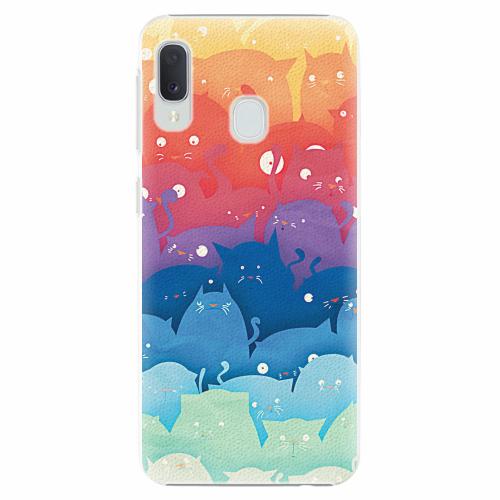 Plastový kryt iSaprio - Cats World - Samsung Galaxy A20e