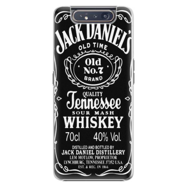 Plastové pouzdro iSaprio - Jack Daniels - Samsung Galaxy A80