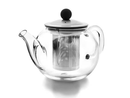 Skleněná konvička na čaj 0,9l