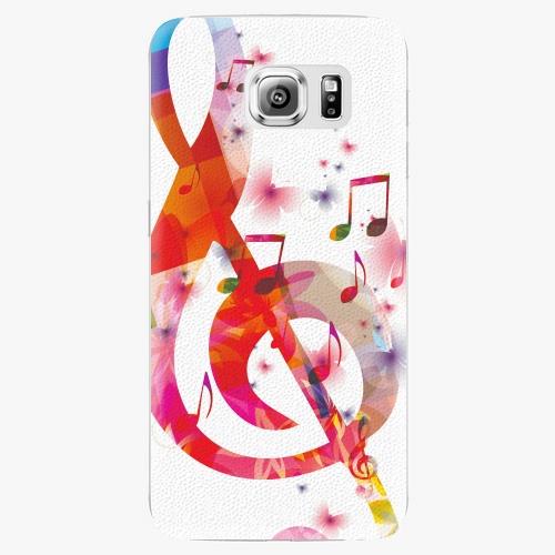 Plastový kryt iSaprio - Love Music - Samsung Galaxy S6 Edge