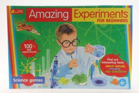 Úžasné experimenty pro začátečníky