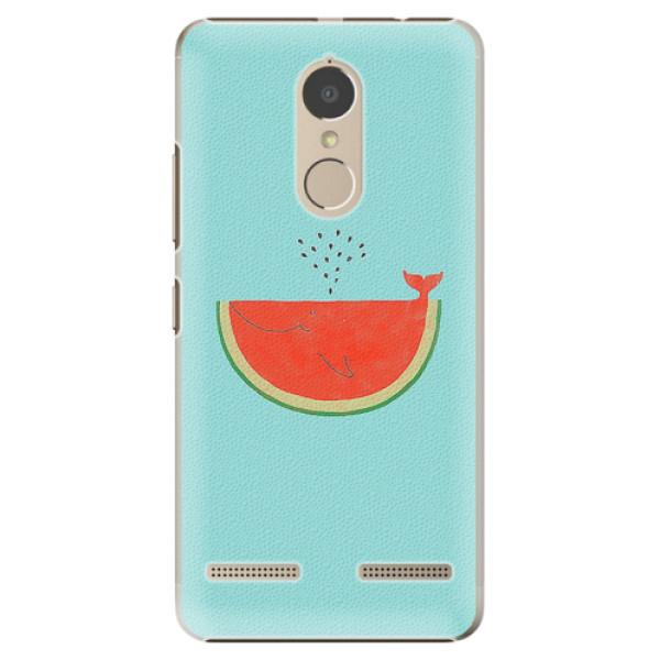 Plastové pouzdro iSaprio - Melon - Lenovo K6