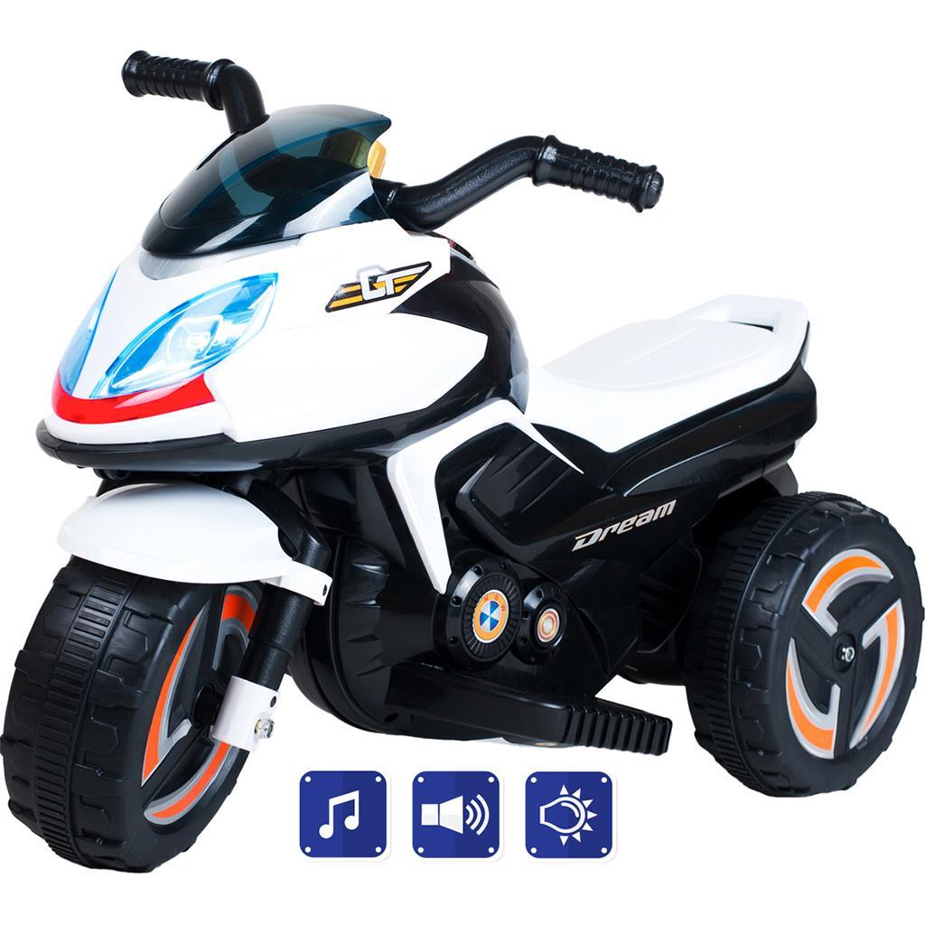 Elektrická motorka BAYO KICK white - bílá
