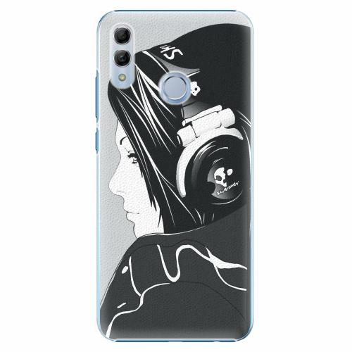 Plastový kryt iSaprio - Headphones - Huawei Honor 10 Lite