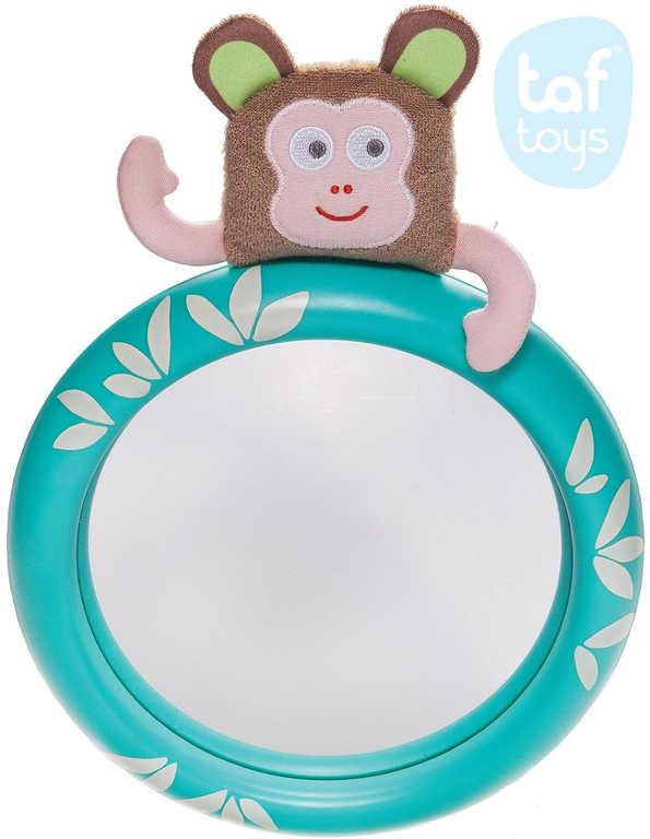 TAF TOYS Baby zrcátko zpětné opička Marco na sedačku do auta pro miminko
