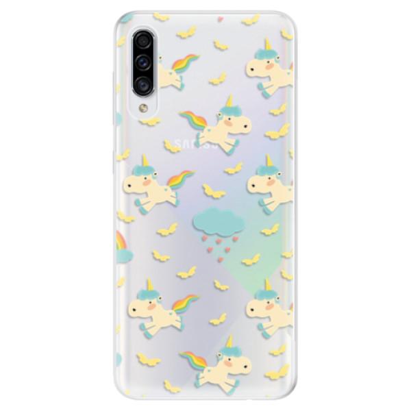 Odolné silikonové pouzdro iSaprio - Unicorn pattern 01 - Samsung Galaxy A30s