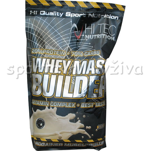 Whey Mass Builder - 3000g-cokolada