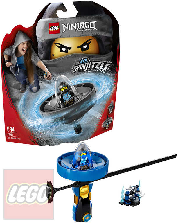 LEGO NINJAGO Jay - Mistr Spinjitzu STAVEBNICE 70635