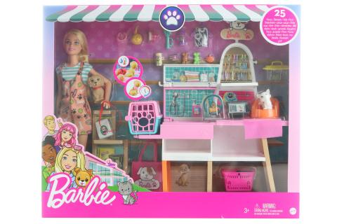 Barbie Obchod pro zvířátka GRG90