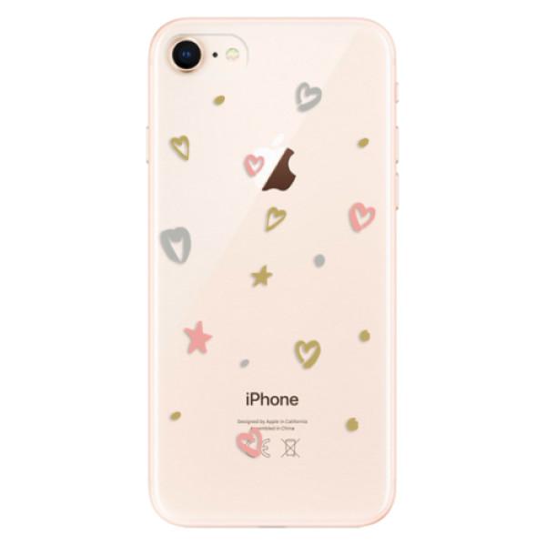 Odolné silikonové pouzdro iSaprio - Lovely Pattern - iPhone 8