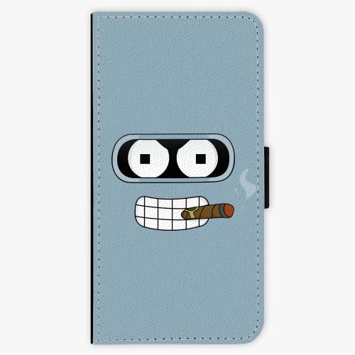 Flipové pouzdro iSaprio - Bender - iPhone 6 Plus/6S Plus