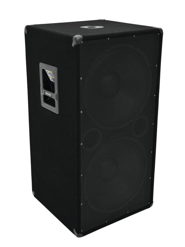Omnitronic BX-2550, subwoofer 600W