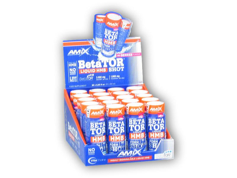 BetaTOR Liquid shot 20x60ml-red-berries