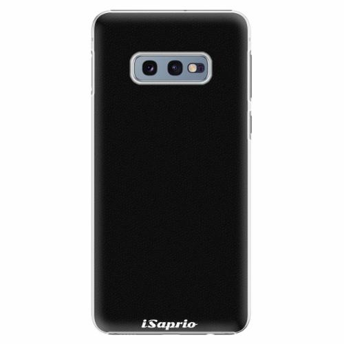 Plastový kryt iSaprio - 4Pure - černý - Samsung Galaxy S10e