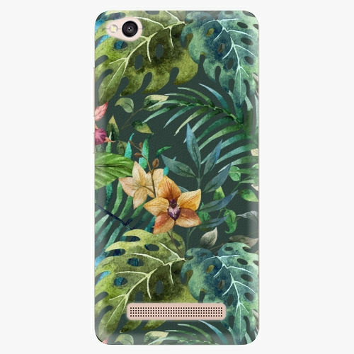 Plastový kryt iSaprio - Tropical Green 02 - Xiaomi Redmi 4A