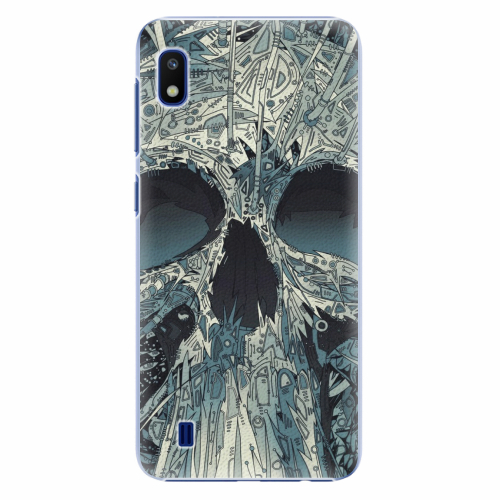 Plastový kryt iSaprio - Abstract Skull - Samsung Galaxy A10