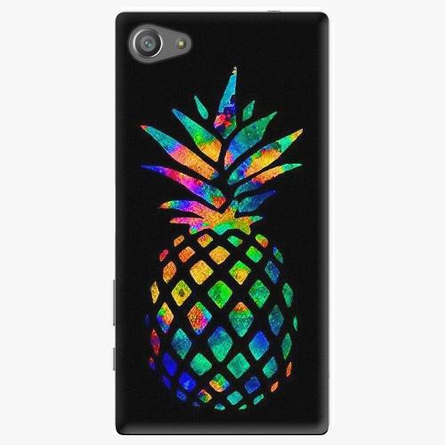 Plastový kryt iSaprio - Rainbow Pineapple - Sony Xperia Z5 Compact