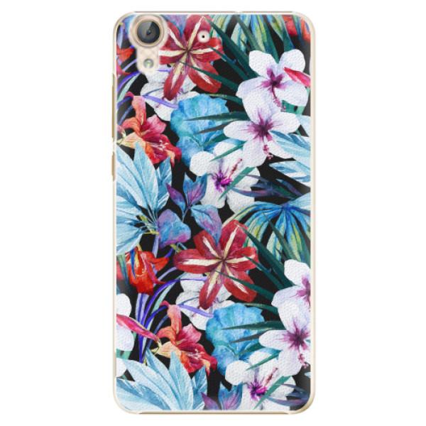 Plastové pouzdro iSaprio - Tropical Flowers 05 - Huawei Y6 II