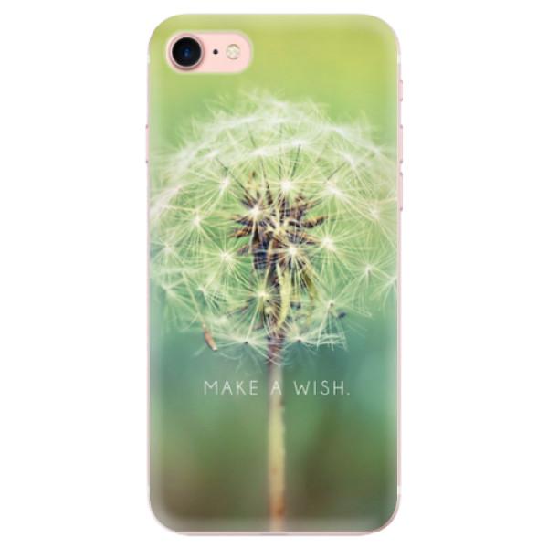 Odolné silikonové pouzdro iSaprio - Wish - iPhone 7