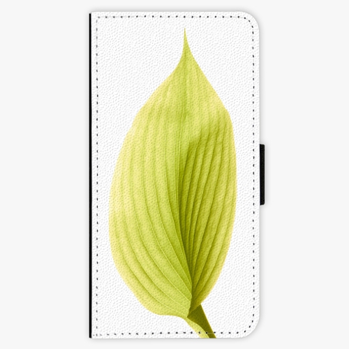 Flipové pouzdro iSaprio - Green Leaf - iPhone 7 Plus