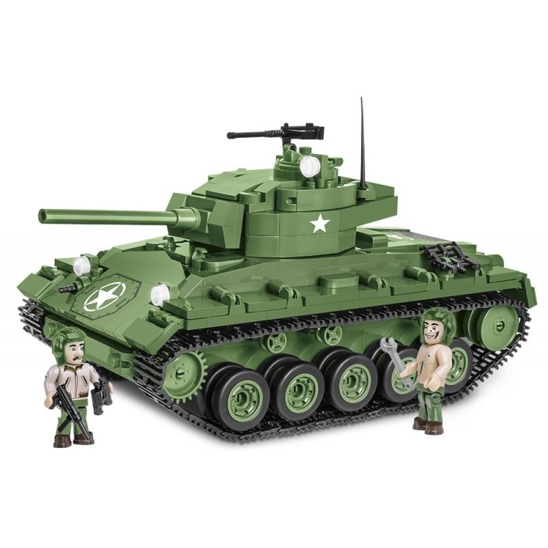 Stavebnice II WW M24 Chaffee 590 k 2 f