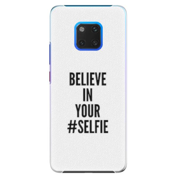 Plastové pouzdro iSaprio - Selfie - Huawei Mate 20 Pro