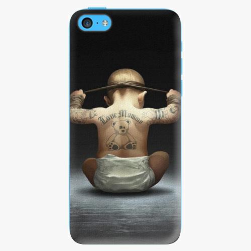 Plastový kryt iSaprio - Crazy Baby - iPhone 5C