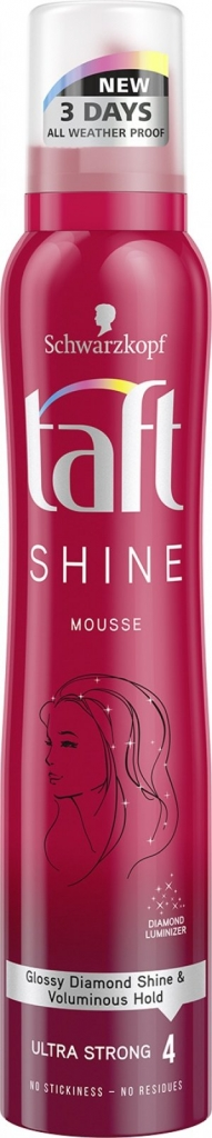 Shine ultra strong pěnové tužidlo silně tužící 200 ml