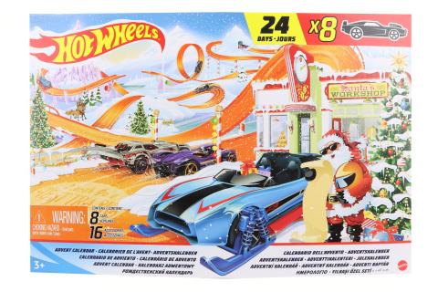 Hot Wheels Adventní kalendář GTD78 TV 1.10.-31.12.2021