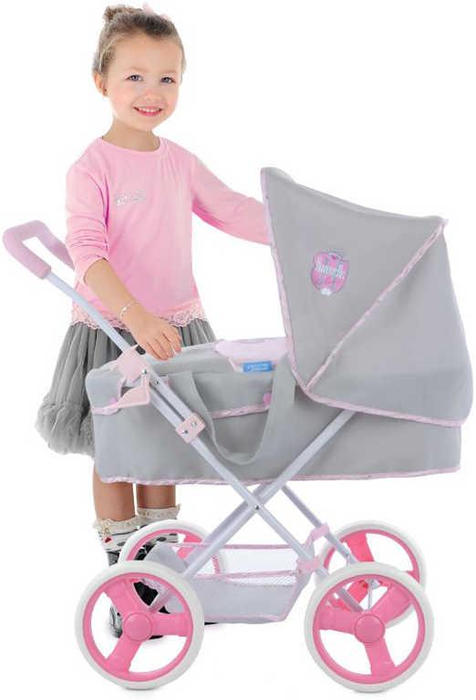 HAUCK Kočárek Gini Pram Princess Princess Pink pro panenku miminko