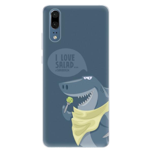 Silikonové pouzdro iSaprio - Love Salad - Huawei P20