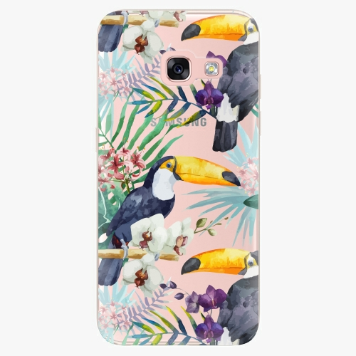 Plastový kryt iSaprio - Tucan Pattern 01 - Samsung Galaxy A3 2017