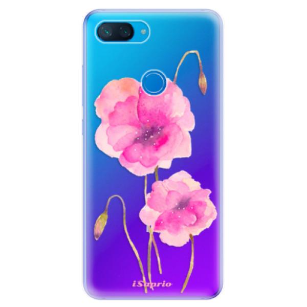 Odolné silikonové pouzdro iSaprio - Poppies 02 - Xiaomi Mi 8 Lite