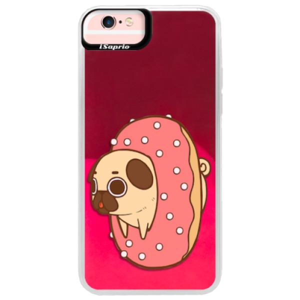 Neonové pouzdro Pink iSaprio - Dog 04 - iPhone 6 Plus/6S Plus