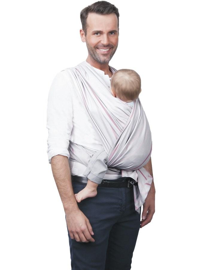 Šátek Womar na nošení dětí Be Close