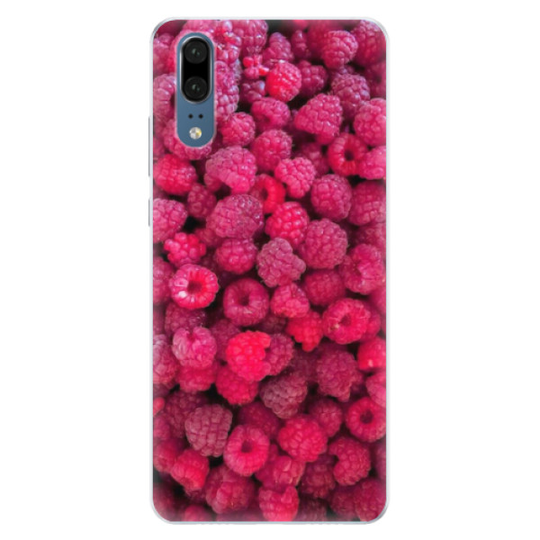 Silikonové pouzdro iSaprio - Raspberry - Huawei P20