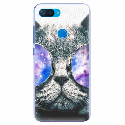 Plastový kryt iSaprio - Galaxy Cat - Xiaomi Mi 8 Lite