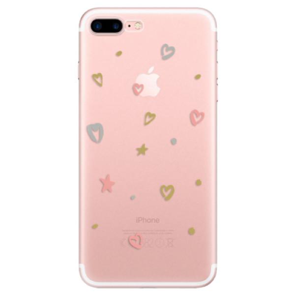 Odolné silikonové pouzdro iSaprio - Lovely Pattern - iPhone 7 Plus