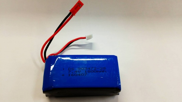 Náhradní akumulátor 1800mAh 7,4V Li-po pro U-FLY